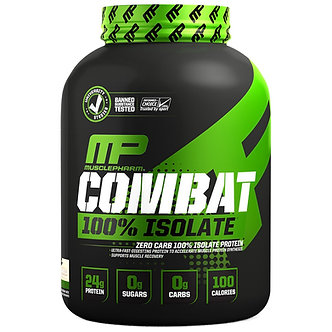 MusclePharm - Combat 100% Isolate [5 LBS / 84 Servings] Vanilla