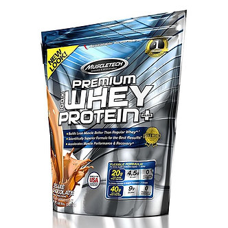 MuscleTech - Premium Whey Protein Plus [2 LBS / 70 Servings] Deluxe Chocolate
