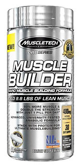 MuscleTech - MuscleTech® Pro Series Muscle Builder [30 Caps] Unflavored