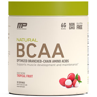 MusclePharm - Natural BCAA Powder [30 Servings] Tropical Fruit