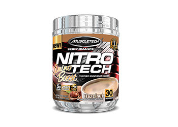 MuscleTech - NITRO-TECH® AMINO BOOST [30 Servings] Hazelnut