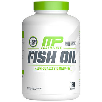 MusclePharm - Fish Oil [180 Servings] Unflavored