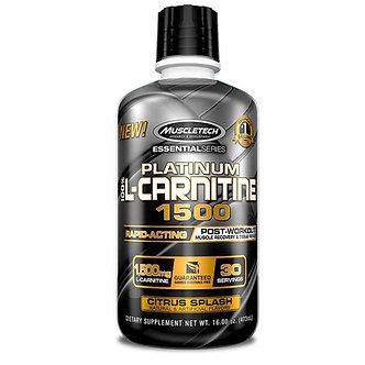 MuscleTech - Platinum 100% L-Carnitine 1500 [31 Servings] Citrus Splash