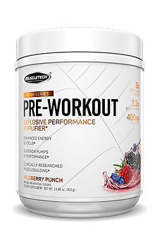 MuscleTech - Peak Series Pre-Workout [25 Servings] Wildberry Punch