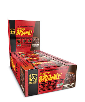 Mutant - MUTANT PROTEIN BROWNIE [1 Box / 12 Bars] Chocolate Fudge