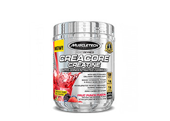 MuscleTech - Pro Series CreaCore® [120 Servings] Fruit Punch Fusion