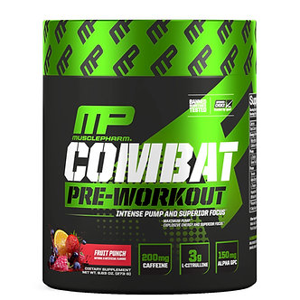MusclePharm - Combat Pre-Workout [30 Servings] Fruit Punch