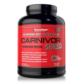 MUSCLE MEDS - Carnivor Shred [4.56 LBS]