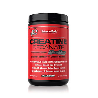 MUSCLE MEDS - Creatine Decanate [60 Servings]