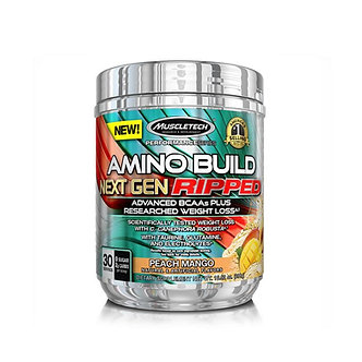 MuscleTech - AMINO BUILD® NEXT GEN RIPPED [30 Servings] Peach Mango