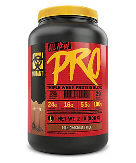Mutant - MUTANT PRO [2 LBS / 29 Servings] Rich Chocolate Milk