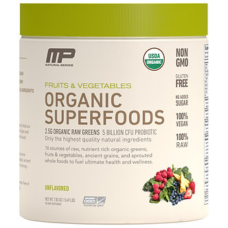 MusclePharm - Organic Superfoods [30 Servings] Unflavoured