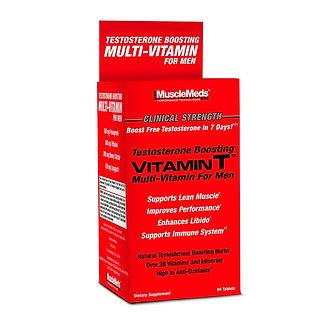 MUSCLE MEDS - Vitamin T [90 Tablets]