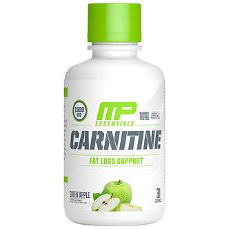 MusclePharm - Carnitine Essentials Liquid [31 Servings] Green Apple