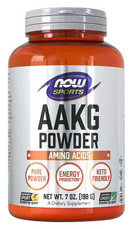 NOW Sport - AAKG Powder [47 Servings] Unflavored