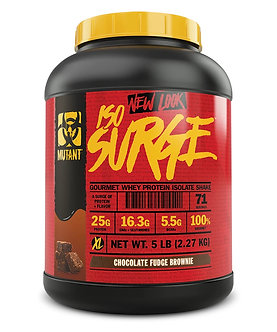 Mutant - MUTANT ISO SURGE [5 LBS / 71 Servings] Chocolate Fudge Brownie