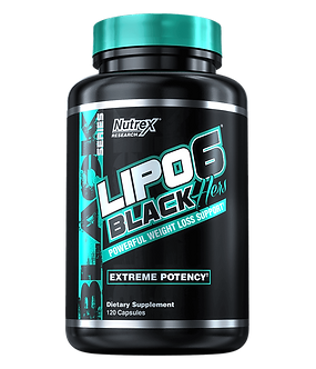 Nutrex Research - LIPO-6 BLACK HERS [120 Caps] Unflavored