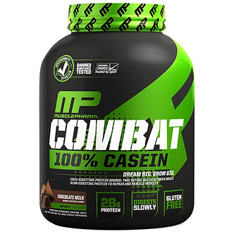 MusclePharm - Combat 100% Casein [4 LBS / 52 Servings] Chocolate Milk