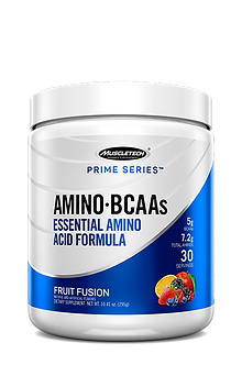 MuscleTech - Prime Series Amino BCAAs [30 Servings] Fruit Fusion