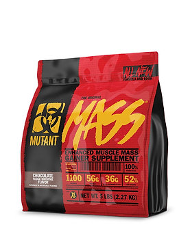 Mutant - MUTANT MASS [5 LBS / 24 Servings Chocolate Fudge Brownie