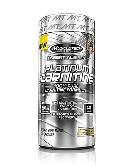 MuscleTech - Platinum 100% Carnitine [180 Caps] Unflavored
