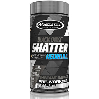 MuscleTech - Shatter™ Neuro N.O. Black Onyx® [60 Caps] Unflavored