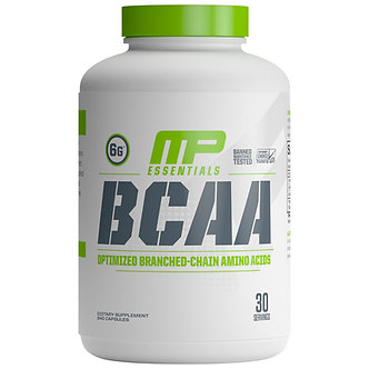 MusclePharm - BCAA Capsules [30 Servings] Unflavored