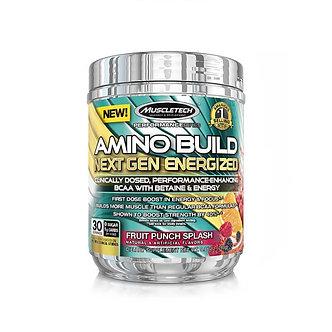 MuscleTech - AMINO BUILD® NEXT GEN ENERGIZED [30 Servings] Fruit Punch Splash