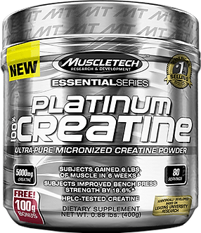 MuscleTech -Platinum 100% Creatine
