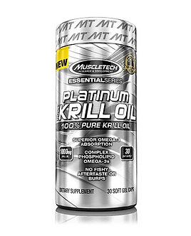 MuscleTech - Platinum Pure Krill Oil [30 Softgels] Unflavored