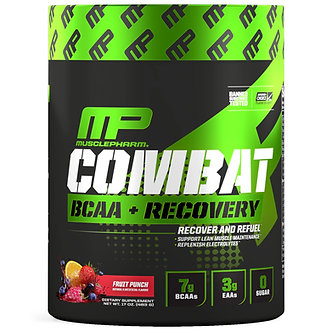 MusclePharm - Combat BCAA + Recovery [30 Servings] Fruit Punch
