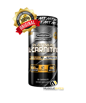 MuscleTech - Platinum 100% L-Carnitine 60 Servings