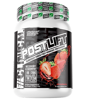 Nutrex Research - POSTLIFT [20 Servings] Strawberry