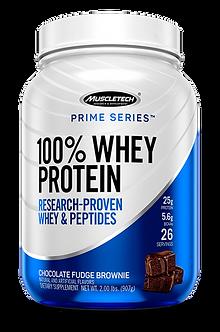 MuscleTech - Prime Series 100% Whey [2 LBS / 26 Servings] Chocolate Fudge Brownie