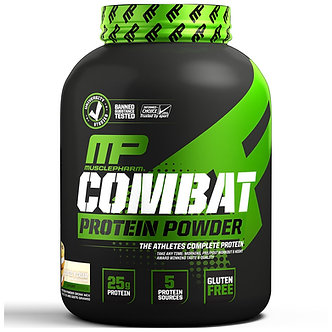 MusclePharm - Combat Protein [5 LBS / 65 Servings] Cookies 'N' Cream