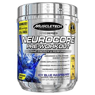 MuscleTech - NeuroCore® [50 Servings] Icy Blue Raspberry
