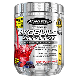 MuscleTech - MyoBuild® [36 Servings] Fruit Punch Blast