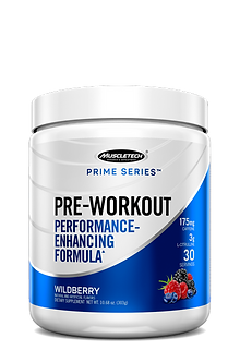 MuscleTech - Prime Series Pre-Workout [30 Servings] Wildberry