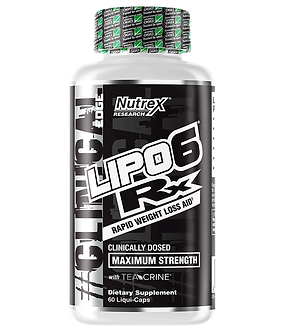 Nutrex Research - LIPO-6 RX [60 Caps] Unflavored