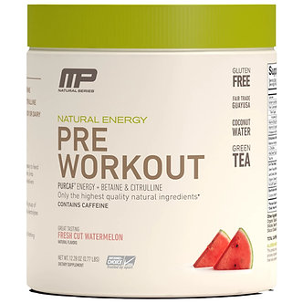 MusclePharm - All Natural Pre-Workout [30 Servings] Fresh Cut Watermelon