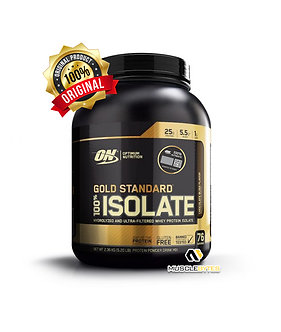 Optimum Nutrition Gold Standard 100% Isolate [5.2 LBS]