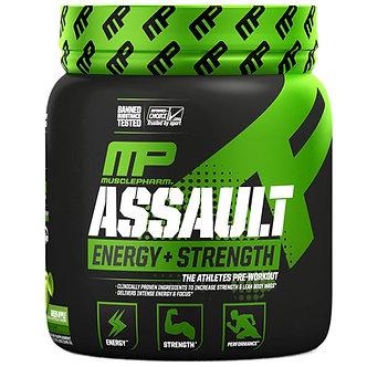 MusclePharm - Assault Pre-Workout [30 Servings] Green Apple