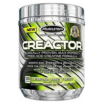 MuscleTech - Creactor™ [120 Servings] Lemon Lime Twist