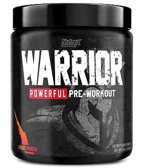 Nutrex Research - WARRIOR [30 Servings] Fruit Punch