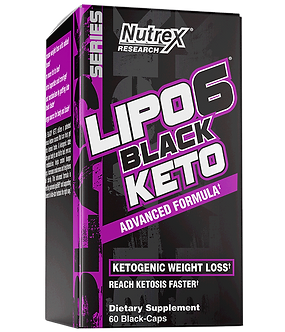 Nutrex Research - LIPO-6 BLACK KETO [60 Caps] Unflavored