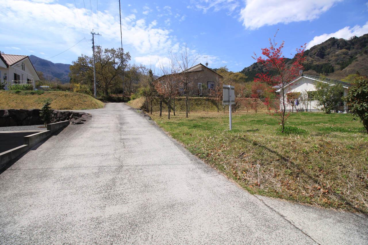 東側の共有道路