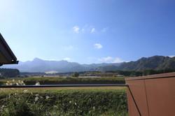 南側の風景