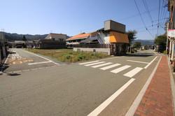 北側の接道状況②