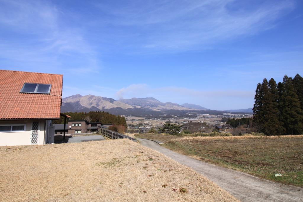 敷地東側からの眺望