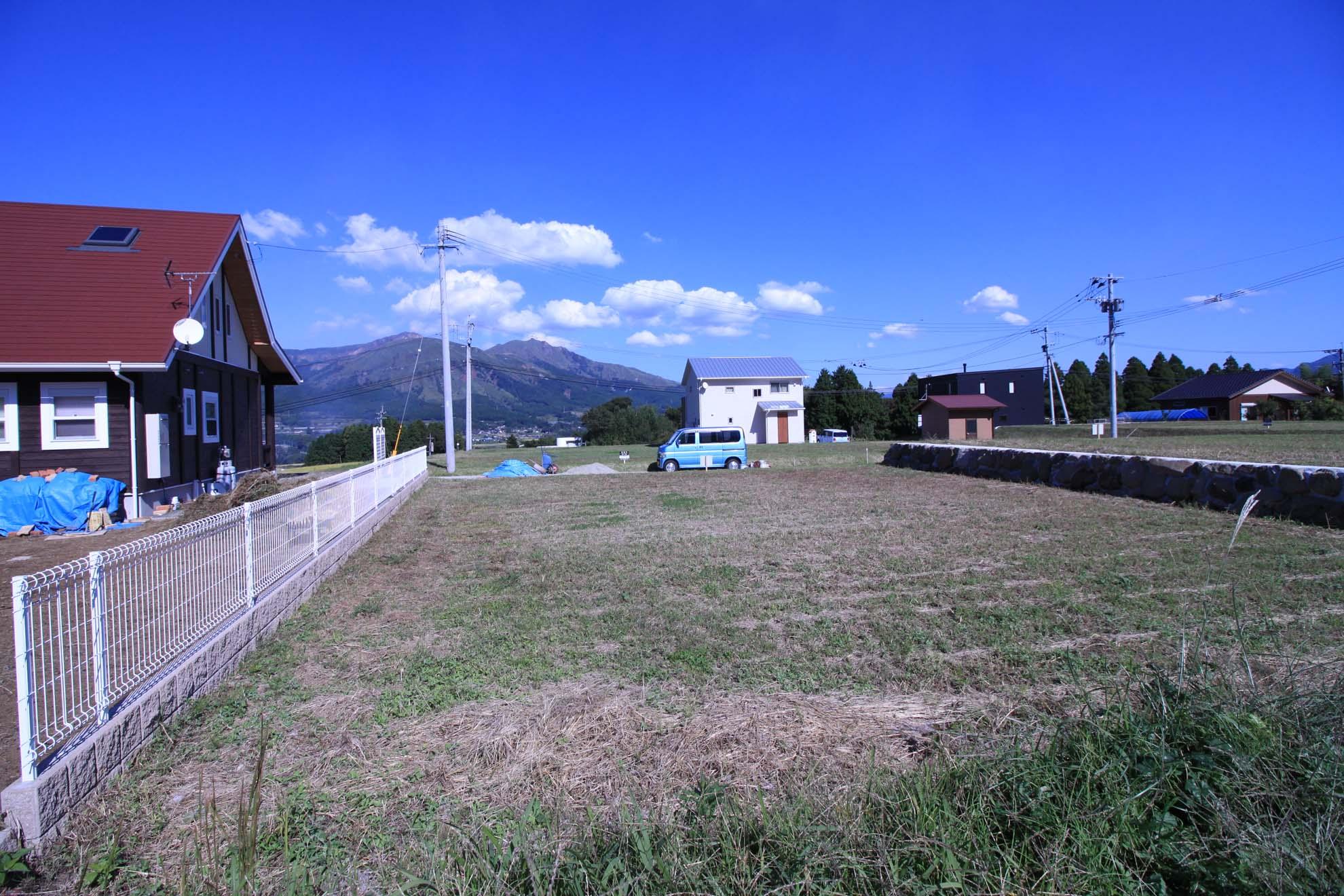阿蘇山方面の眺望